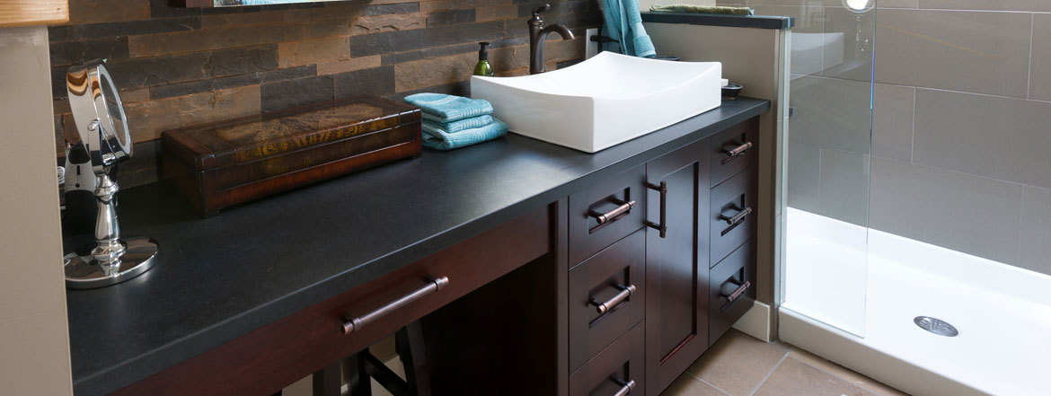 spa style kitchen cabinets and millwork
